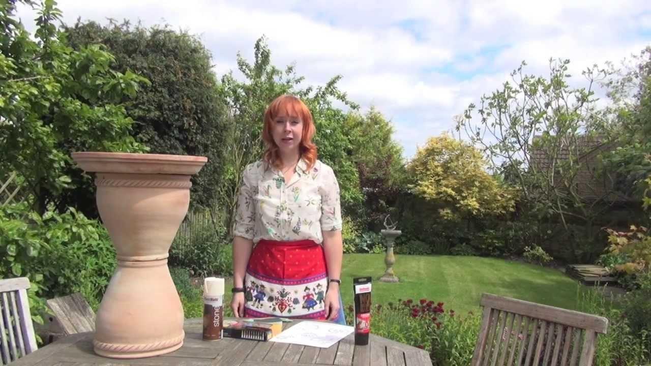 Green Crafts - How to make a Bird Bath