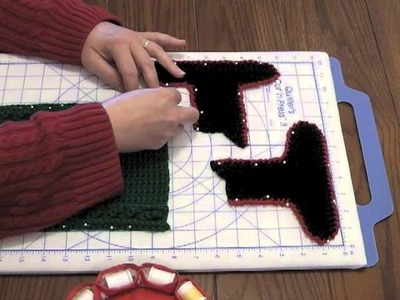 How to Block a Crocheted Article Made of Acrylic