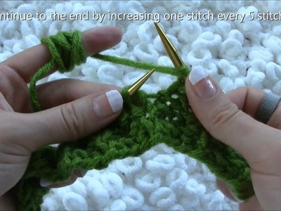 How to Knit a Beret Using Straight Needles