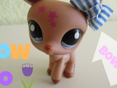 How to make a Bow for your LPS. D.I.Y Bow ♥
