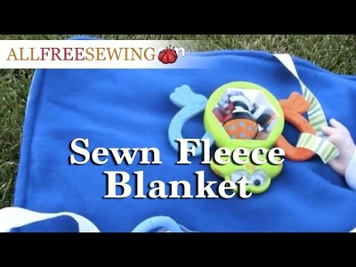 How to Make a Sewn Fleece Blanket