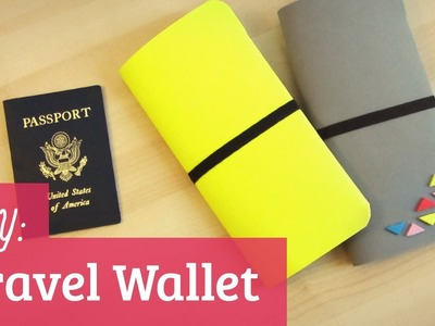 How to Make a Travel Wallet