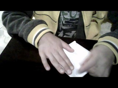 How to make an origami paper bag