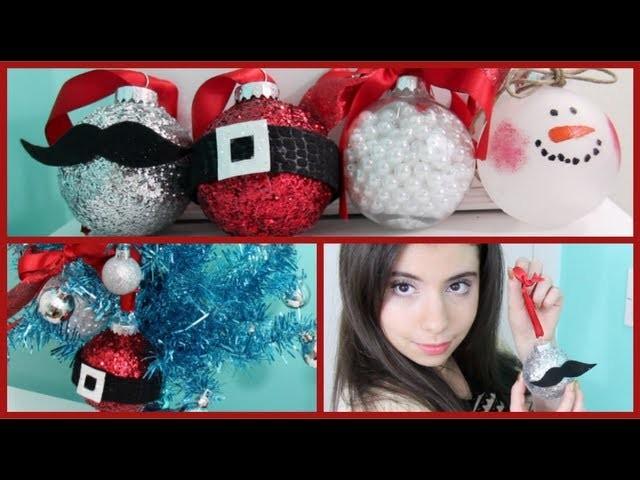 How to make DIY Christmas Ornaments!
