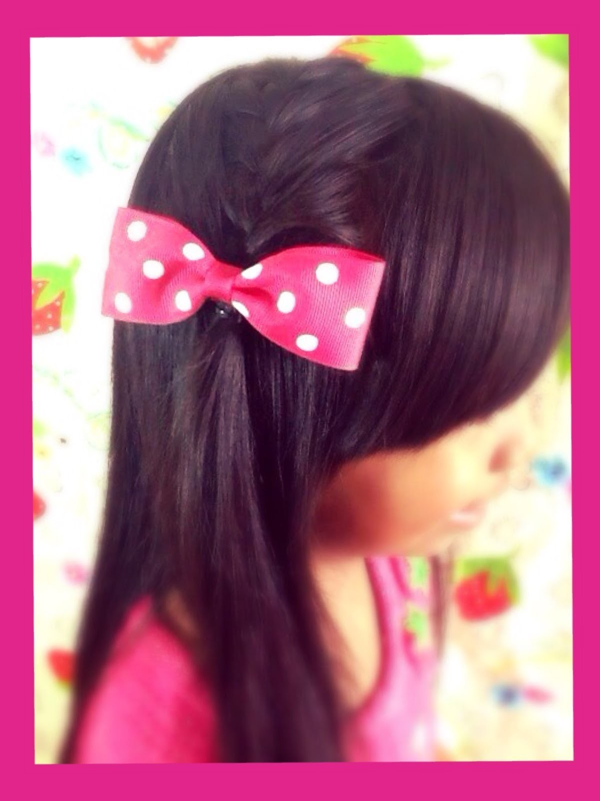 How to Make Easy and Simple Cute Hairbow for Kids