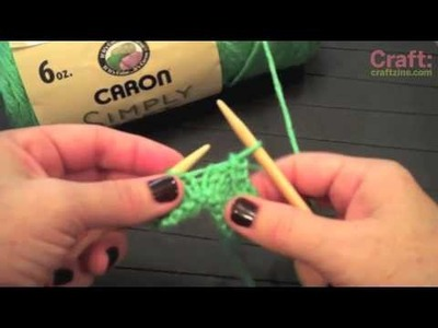 Knitting 101: Basic Bind Off