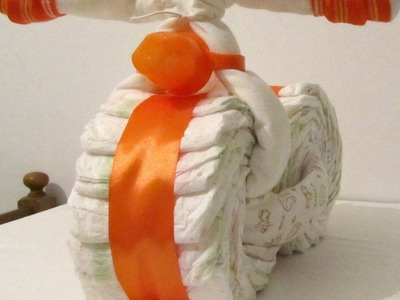 Make a Bicycle Diaper Gift - DIY Crafts - Guidecentral