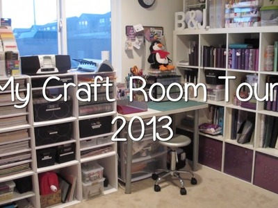 My Purpley Life - Craft Room Tour 2013