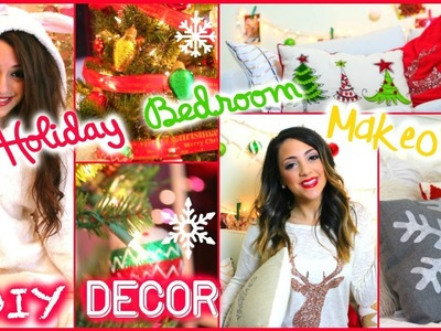 Niki and Gabi's Holiday Room Makeovers + Easy.Cheap DIY Decor!