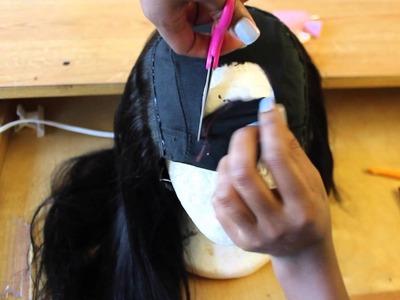 No Sew U-Part Wig ❤ Quick and Easy DIY Tutorial!