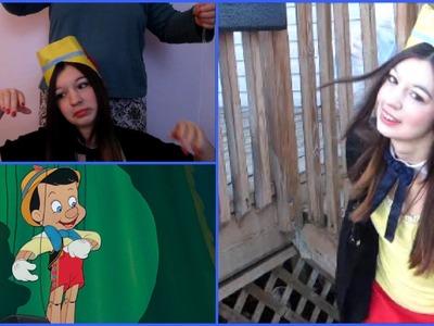 Pinocchio Makeup DIY Costume