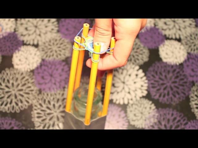 Rainbow Loom: Hexafish Rubber Band Bracelet using Easy Home made Loom Tutorial!