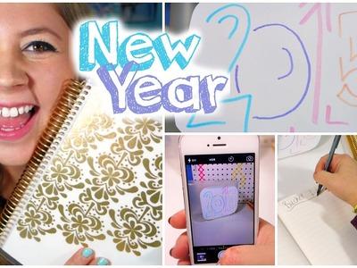 TAKE ON 2015! DIY Organization, Realistic Goals & Motivation!