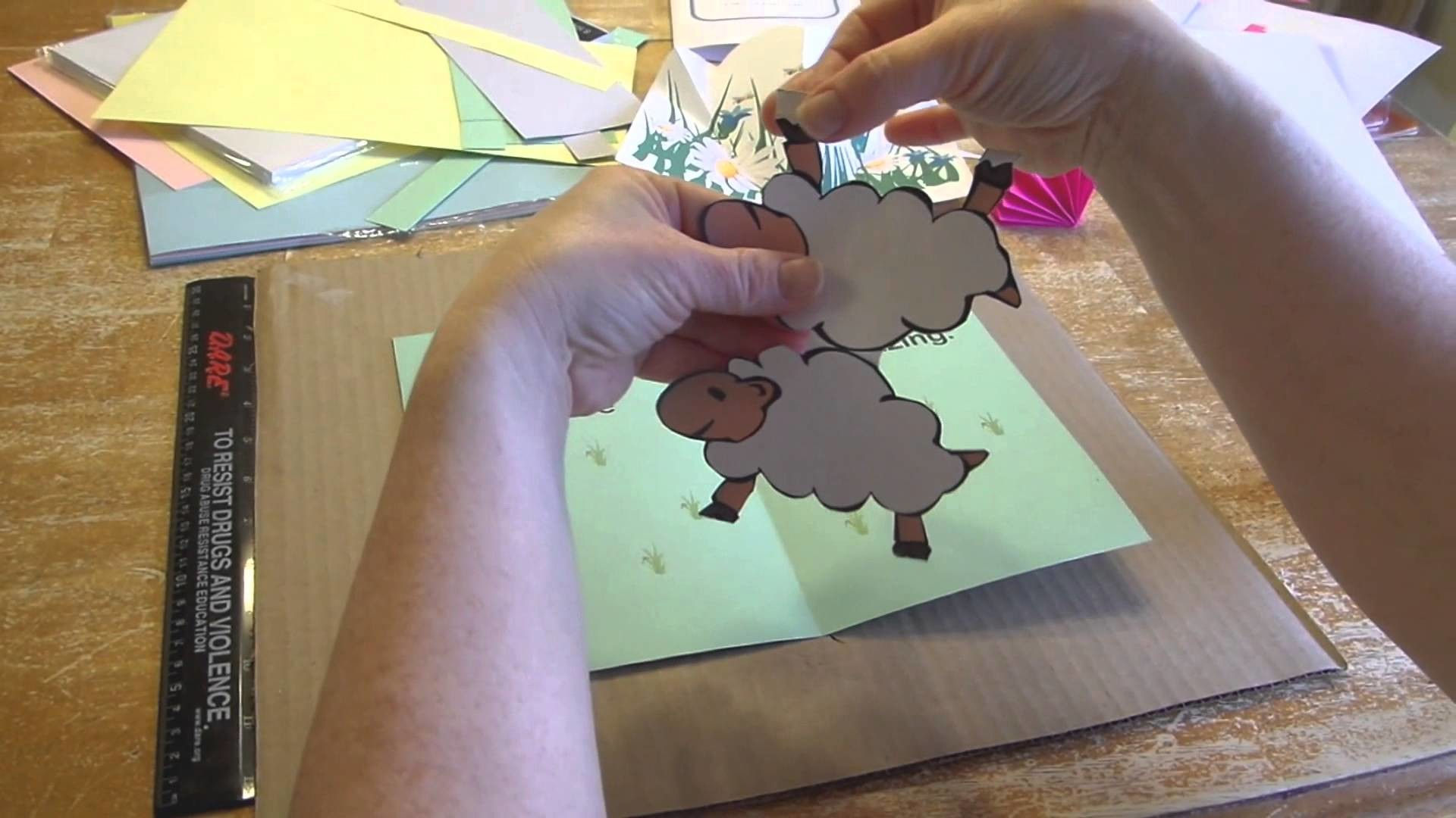 The Making of a Pop-up Book