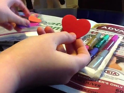 Two easy valentines crafts for AG dolls!