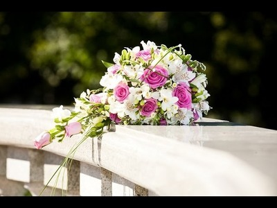 Wedding Ideas: How to Make a Cascading Bridal Bouquet