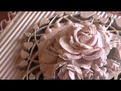 Wild Orchid Crafts - Shabbychic Heart Cigar Box.