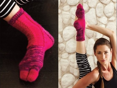#14 Colorblock Socks, Vogue Knitting Winter 2013.14