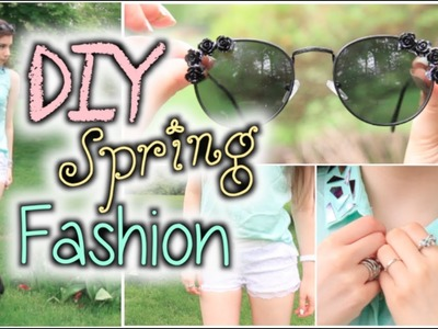 3 Easy DIY's Using Your Old Clothes! (No-Sew)