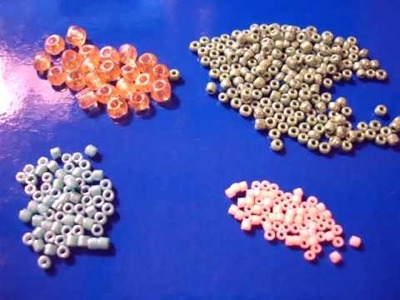 """BeadsFriends: Differences among Delica beads, Seed beads and """"common"""" beads"""