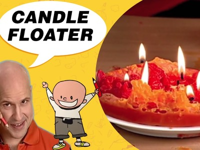 Crafts Ideas for Kids - A Candle Floater   DIY on BoxYourSelf