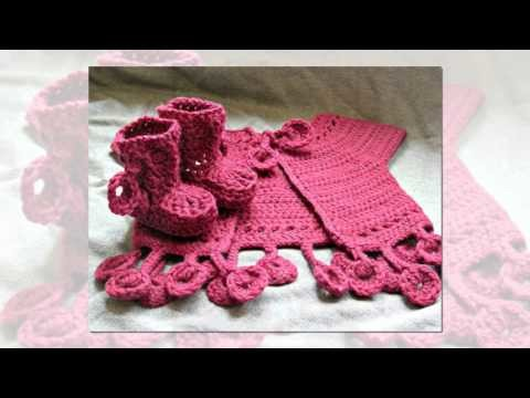 Crochet poncho crochet butterfly crochet doll patterns how to crochet baby booties