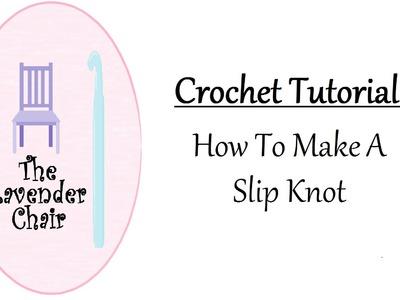 Crochet Tutorial: How To Make A Slip Knot