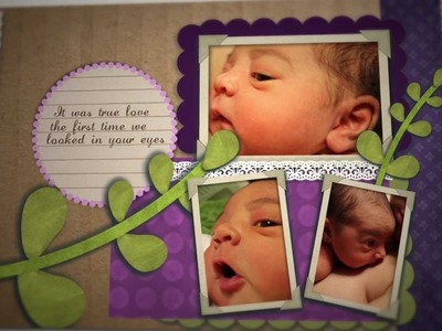 Digital Baby Book! Tech'd Out Scrapbook! Beautiful Princess Ava Rose Locke - Ready For The World HD