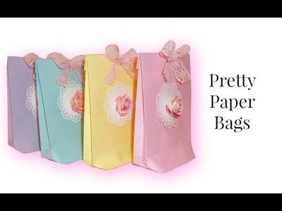 DIY Crafts:  how to make a treat bag