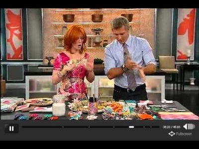 DIY Crayon-melt Cards and Fridge Magnet Delights on S+C Show