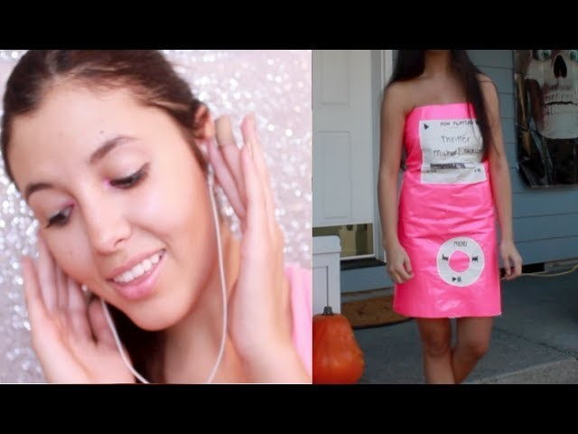 DIY Duct Tape IPod Nano Costume!