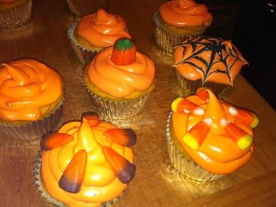 DIY: Halloween Cupcakes ♡ Tutorial