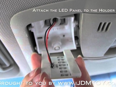 DIY Installation Guide for Dome Lights (Direct-Fit LED Interior Package) [HD]