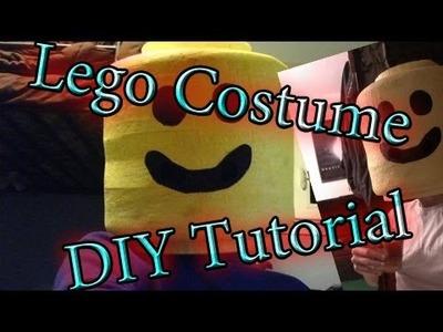 DIY Lego Costume Tutorial Pt II