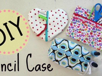 DIY Pencil Case & Makeup Bag   No Sew Project   by Michele Baratta