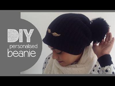 DIY│personalised beanie