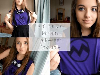 DIY Purple Minion Halloween Costume! | Eve