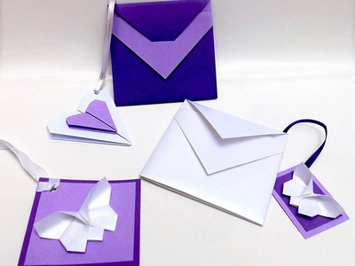Easy  envelope - origami. Great ideas for Easter. Gift wrapping