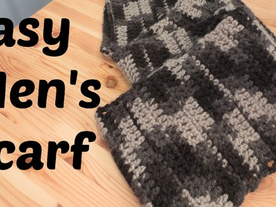 Easy Men's Scarf