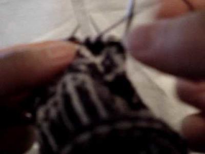 English style 2-colour knitting
