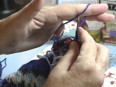 Fair Isle Knit Along Tutorial Part 5 (A): Starting the Underarm Steek