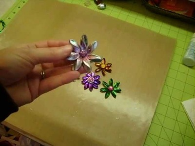 Flowers made from beads and small project share.