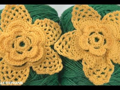 How To Crochet Flower Motif pattern #21