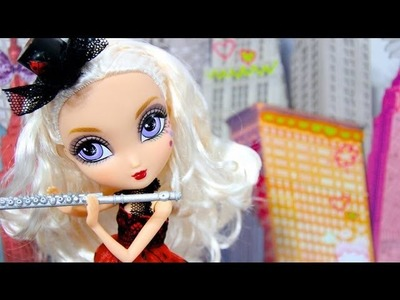 How to Make a Doll Flute with a Case  - Doll Crafts