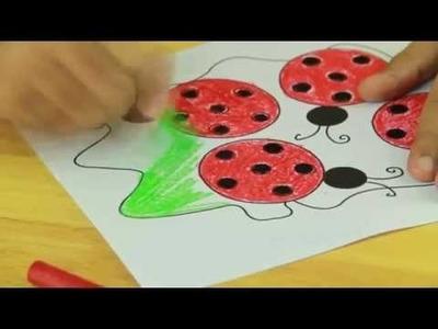 How To Make A Ladybug - Art And Craft