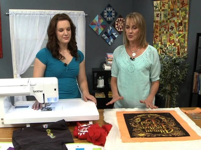 How to Make a T-Shirt Quilt with Jodie Davis