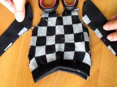 How to make doll outfit 16 Sweater