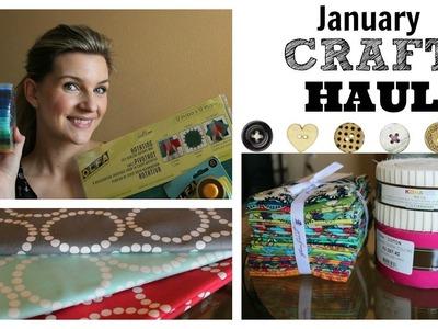 January Craft Haul