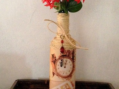 Make a  Home  Decor Vintage Flower Vase - DIY  - Guidecentral