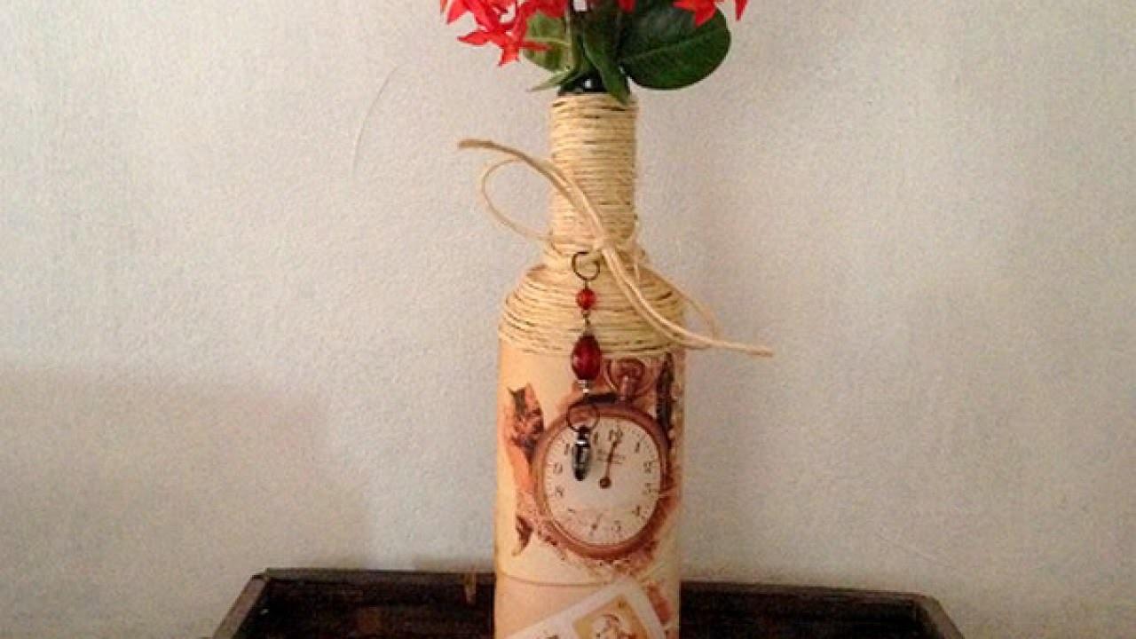 Make a  Home  Decor Vintage Flower Vase - DIY  - Guidecentral